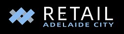 LOGO Retail Adelaide City black background smaller